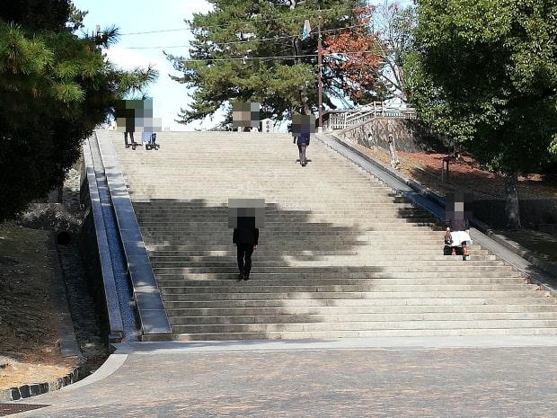 興福寺に至る52階段
