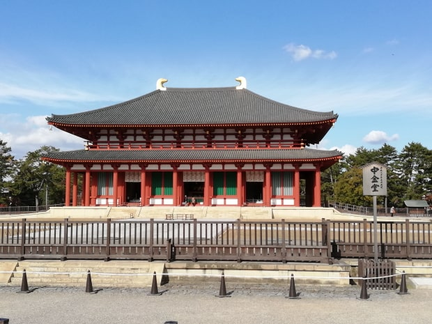 興福寺の中金堂