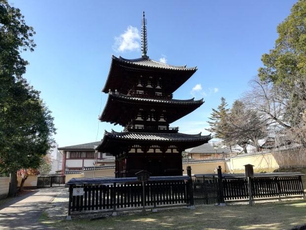 興福寺の三重塔