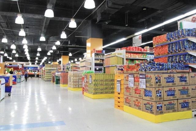 スーパーマーケットの画像