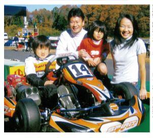 角田家の家族写真