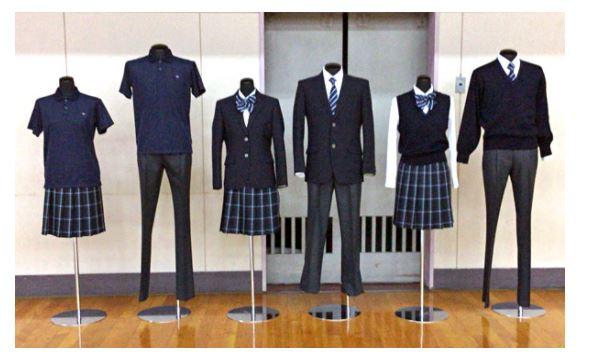 寒川高校の制服